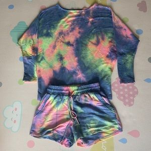 Vici Collection Tie Dye Lounge Set